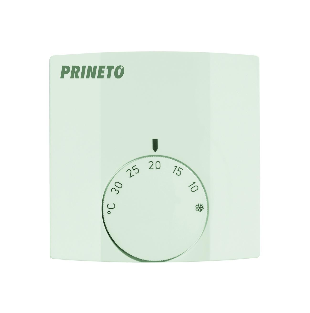Комнатный терморегулятор отопление / охлаждение для открытого монтажа