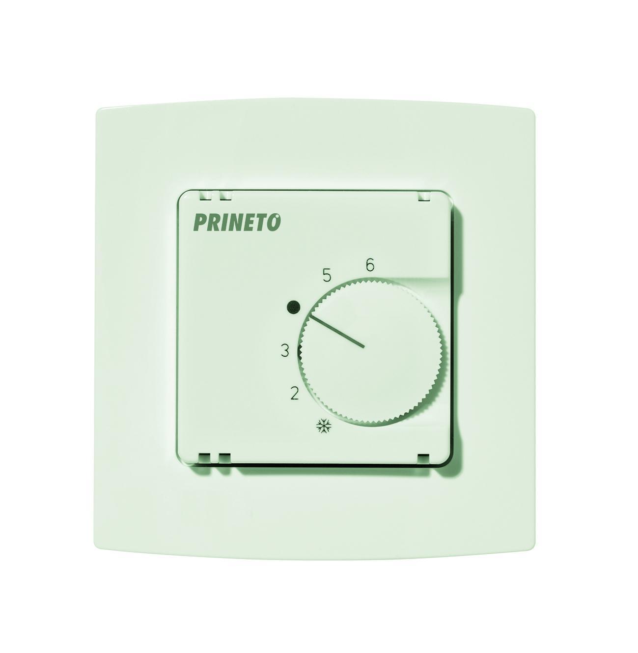 Комнатный терморегулятор отопление/охлаждение для скрытого монтажа