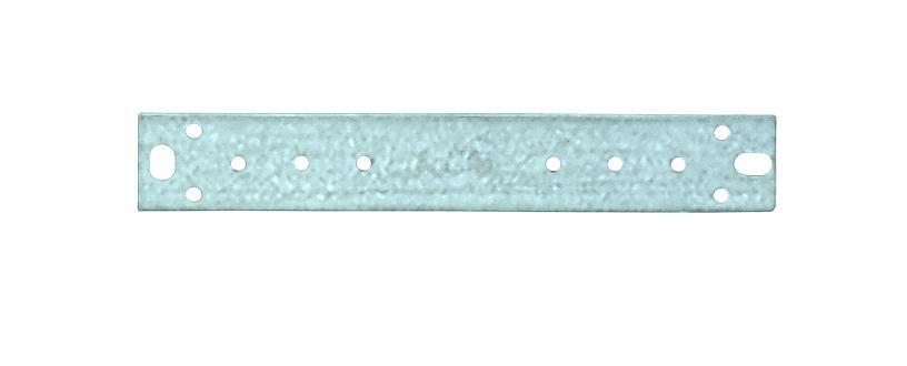 Кронштейн прямой с межцентровым расстоянием 100 мм