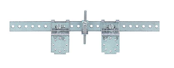 Кронштейн с установочным шагом от 80 мм до 400 мм