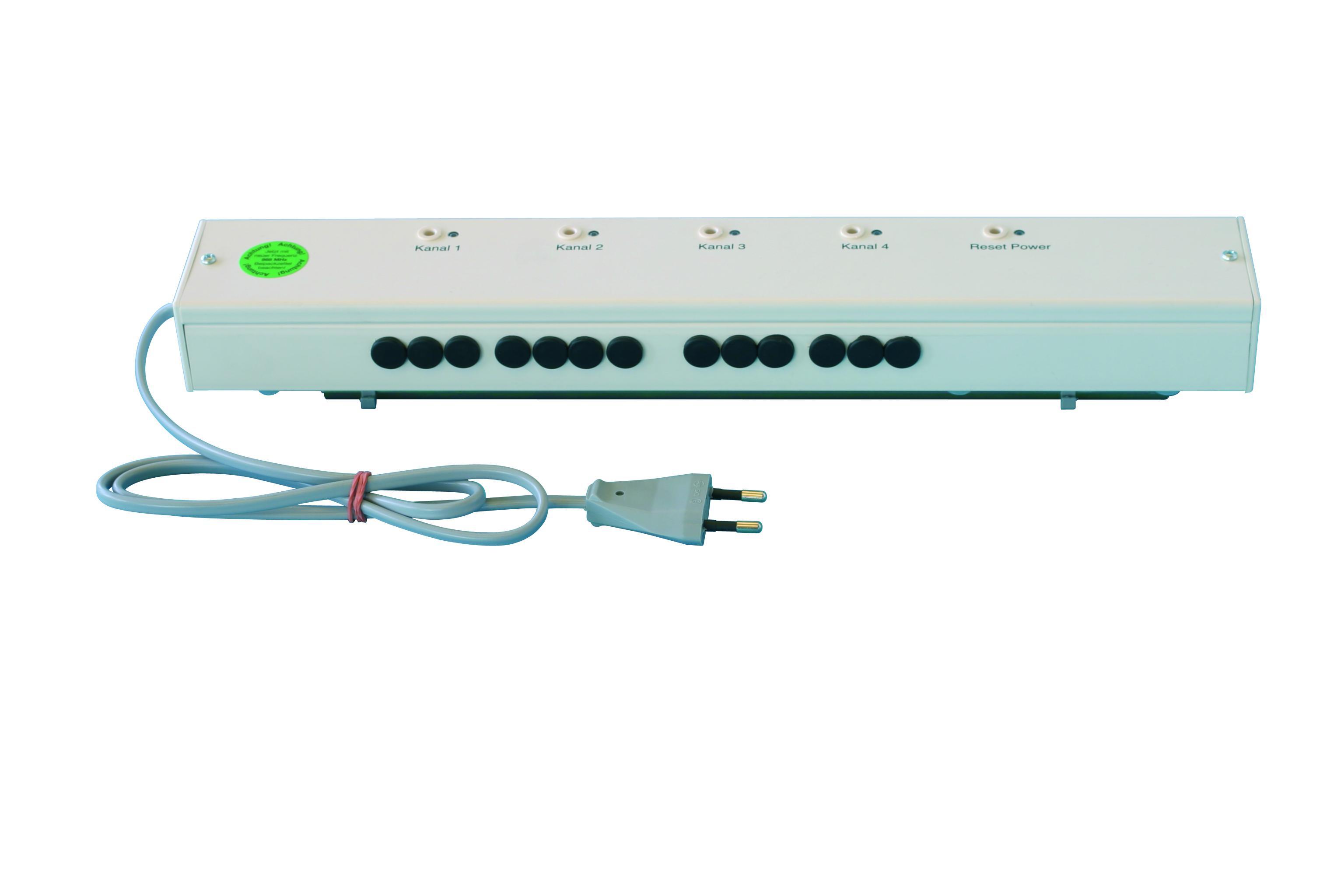 Регулятор температуры, приемник (6 каналов)