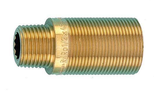Удлинитель R / RP 1/2 для проходного фитинга короткий